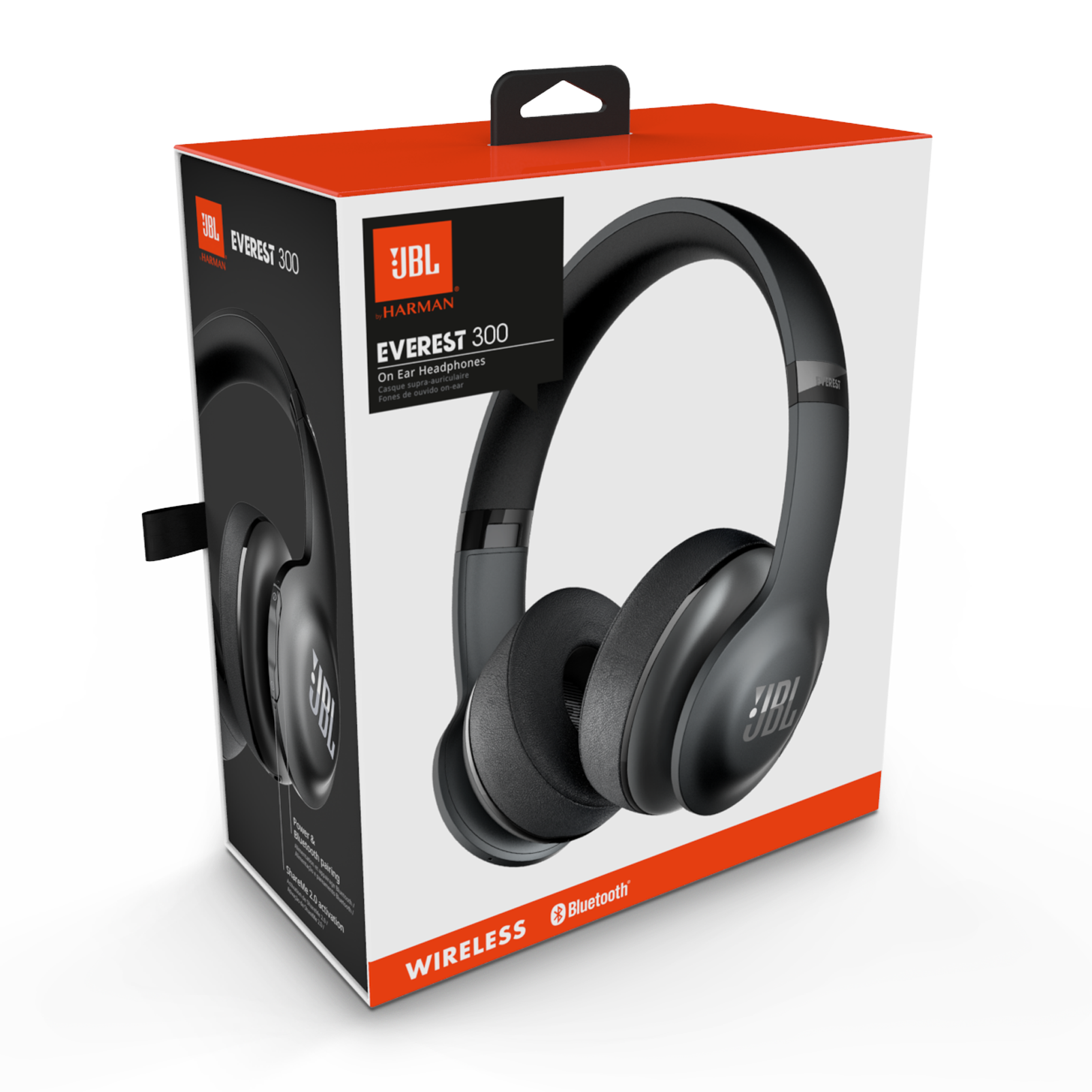 Jbl Everest 300 Bluetooth Headphones With 20 Hour Battery
