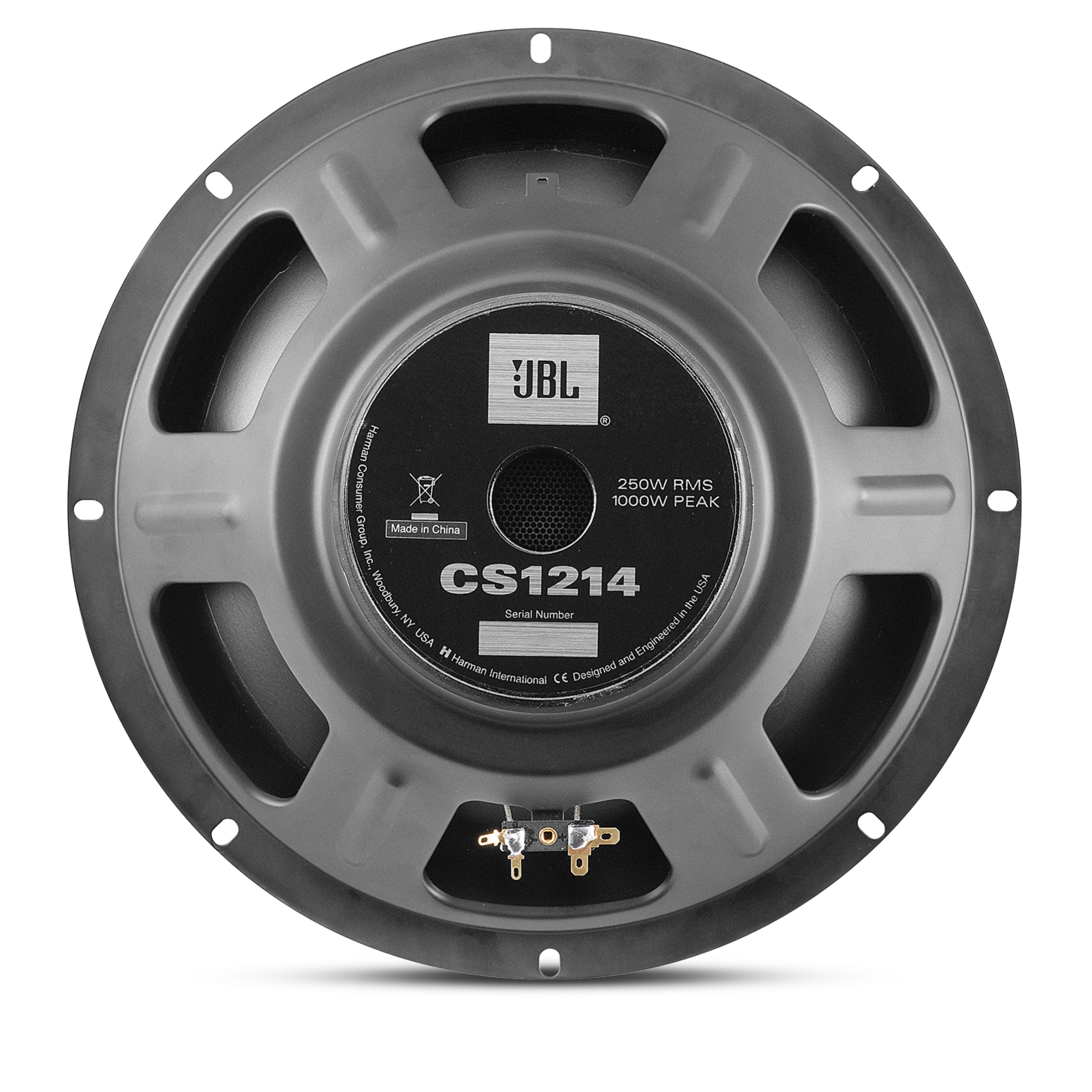 Cs1214 30 Cm 12 Inch Subwoofer With Double Magnet Suitable For Dual Amp Wiring Diagram Single Sub Woofer Alternate Views