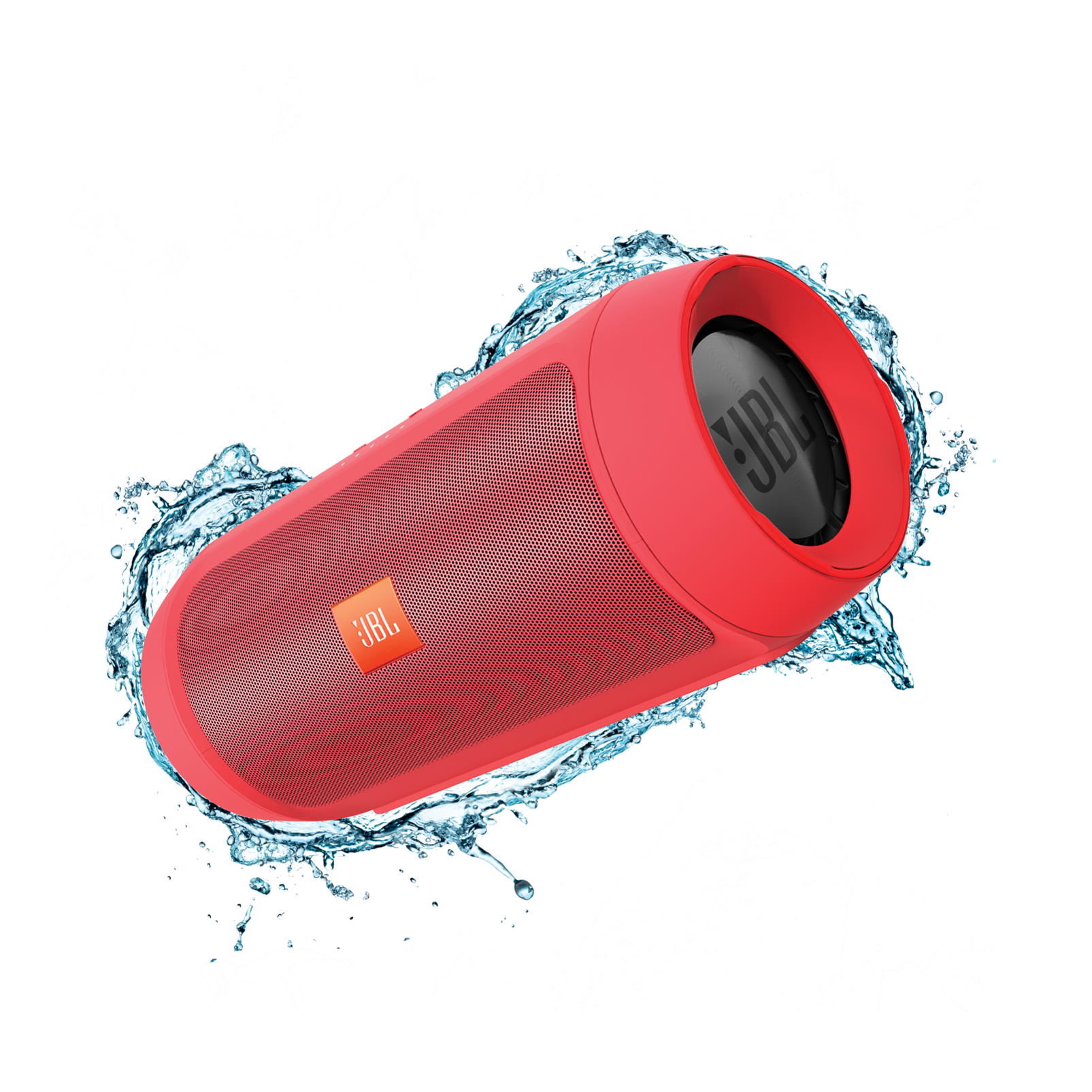 Jbl Charge 2 Splashproof Portable Bluetooth Speaker With Usb Charger 3 Merah