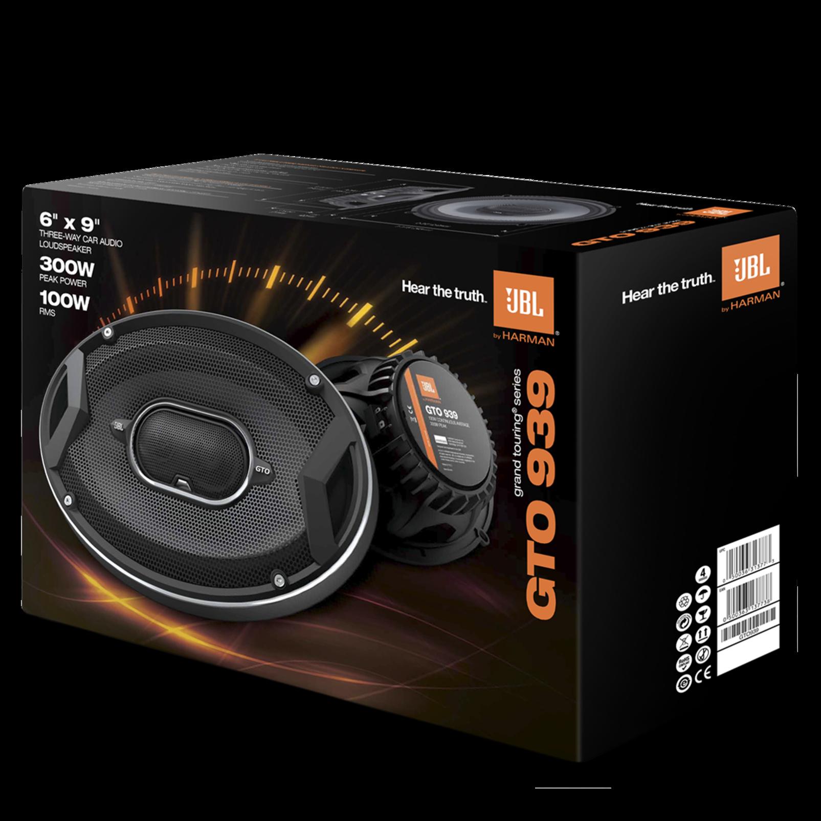 Gto939 300 Watt Three Way 6 X 9 Speaker System With Tweeter Ultimate Eq Wiring Diagram Manuals Downloads