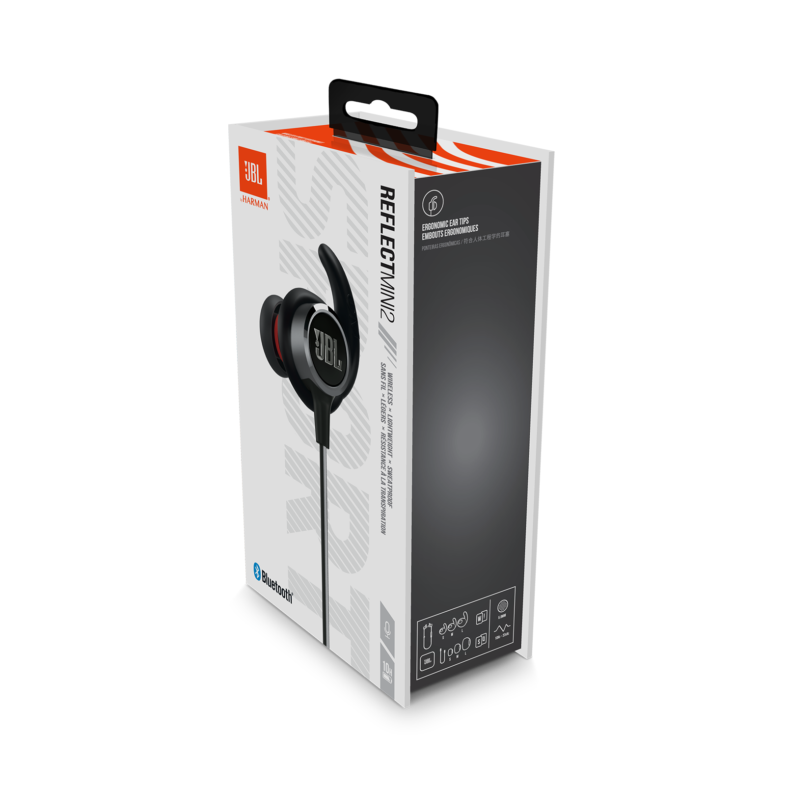 9d64f9e9dc5 JBL REFLECT MINI 2 | Lightweight Wireless Sport Headphones