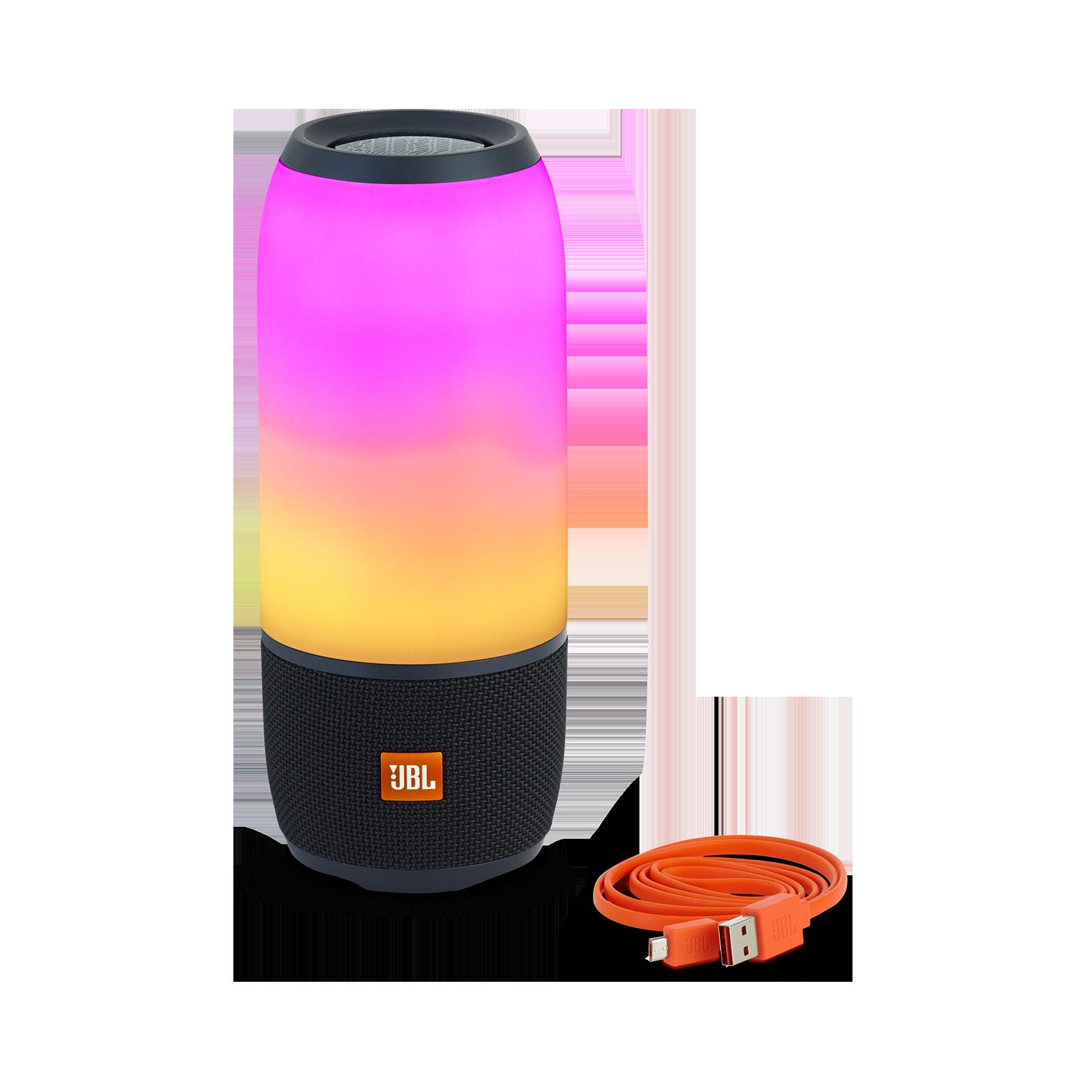 Jbl Pulse 3 Waterproof Bluetooth Speaker With 360 Lightshow Flip 2 Portable Merah