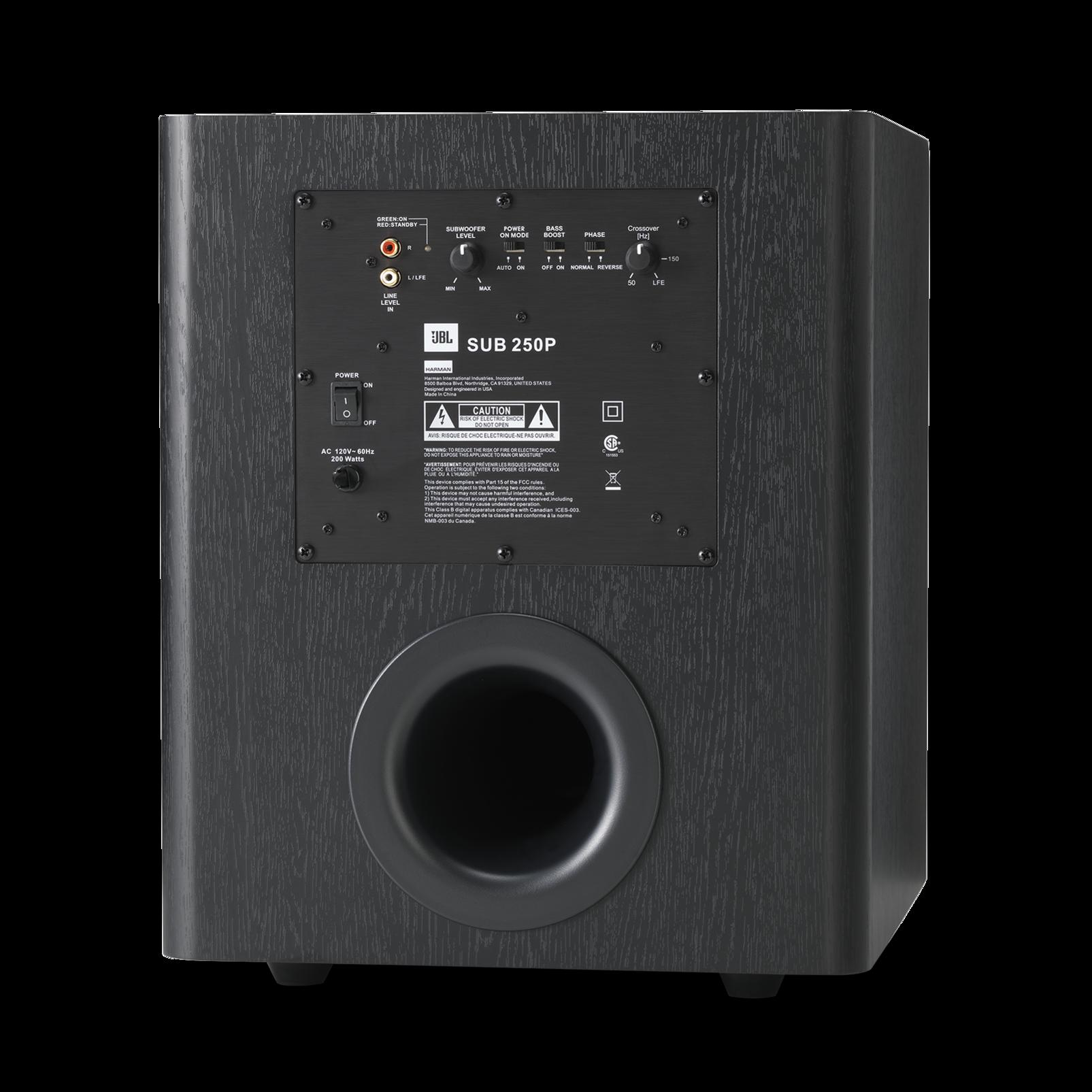 Studio 250p Powerful 200 Watt 10 Inch Powered Subwoofer How To Build Speaker Box Audio Amp Sub