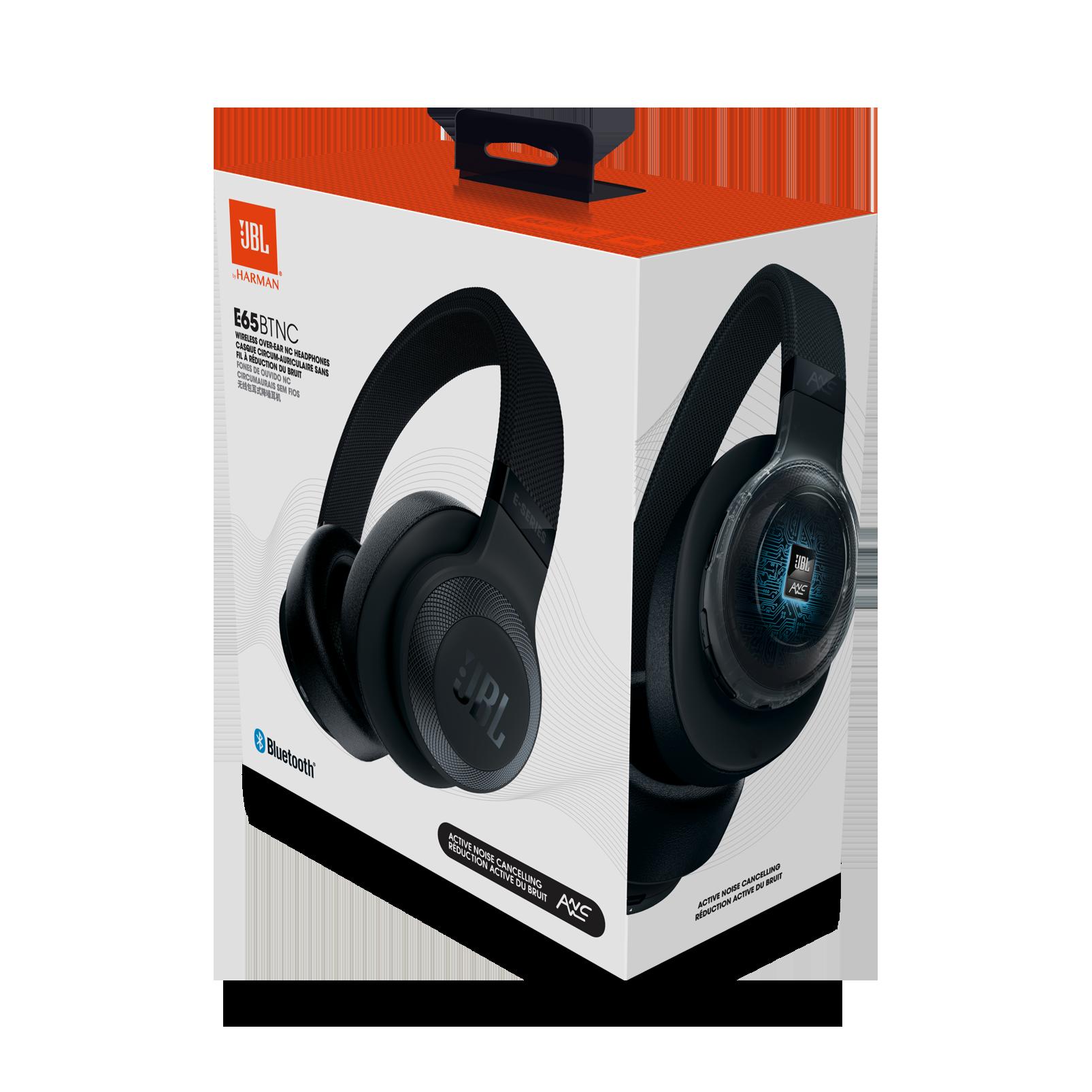 jbl e65btnc wireless over ear noise cancelling headphones
