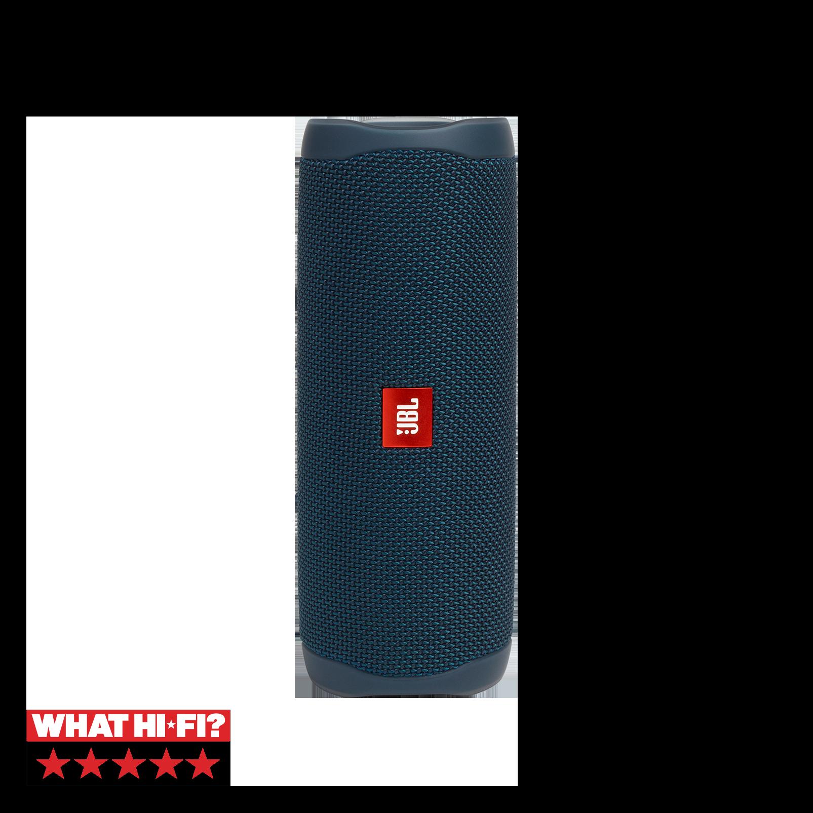 جي بي ال فليب 5 - أزرق - مكبر صوت محمول مضاد للماء - هيرو