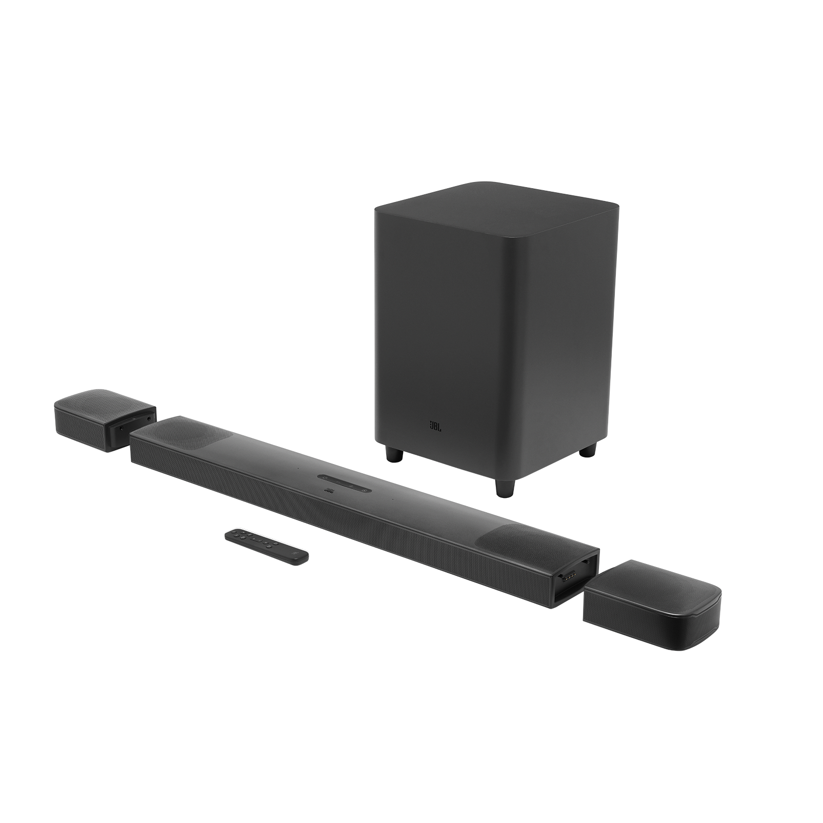 JBL BAR 9.1 True Wireless Surround z Dolby Atmos® - Black - Hero