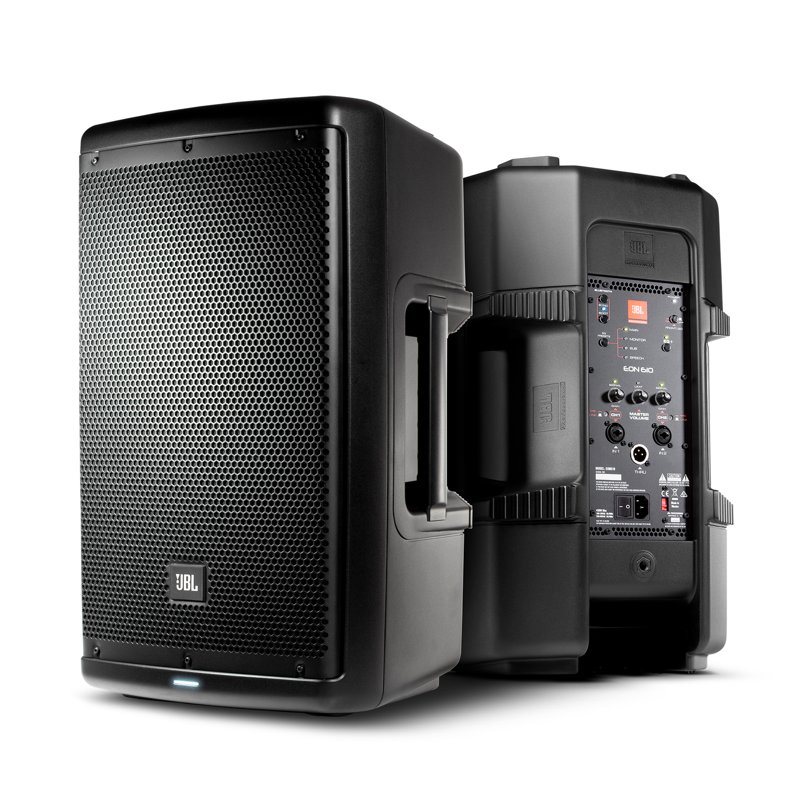 jbl eon610 10 two way multipurpose self powered sound reinforcement rh jbl com JBL EON 1500 Specs JBL EON 15 Specs