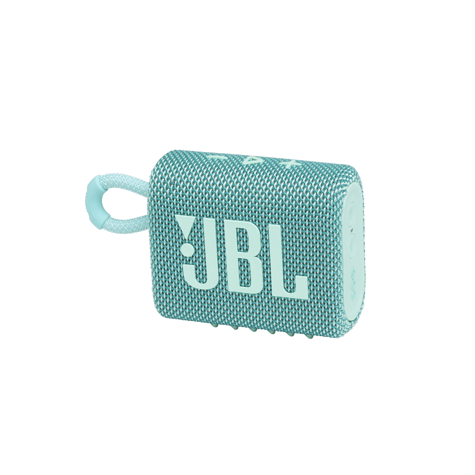 JBL GO 3 - Teal - Portable Waterproof Speaker - Hero