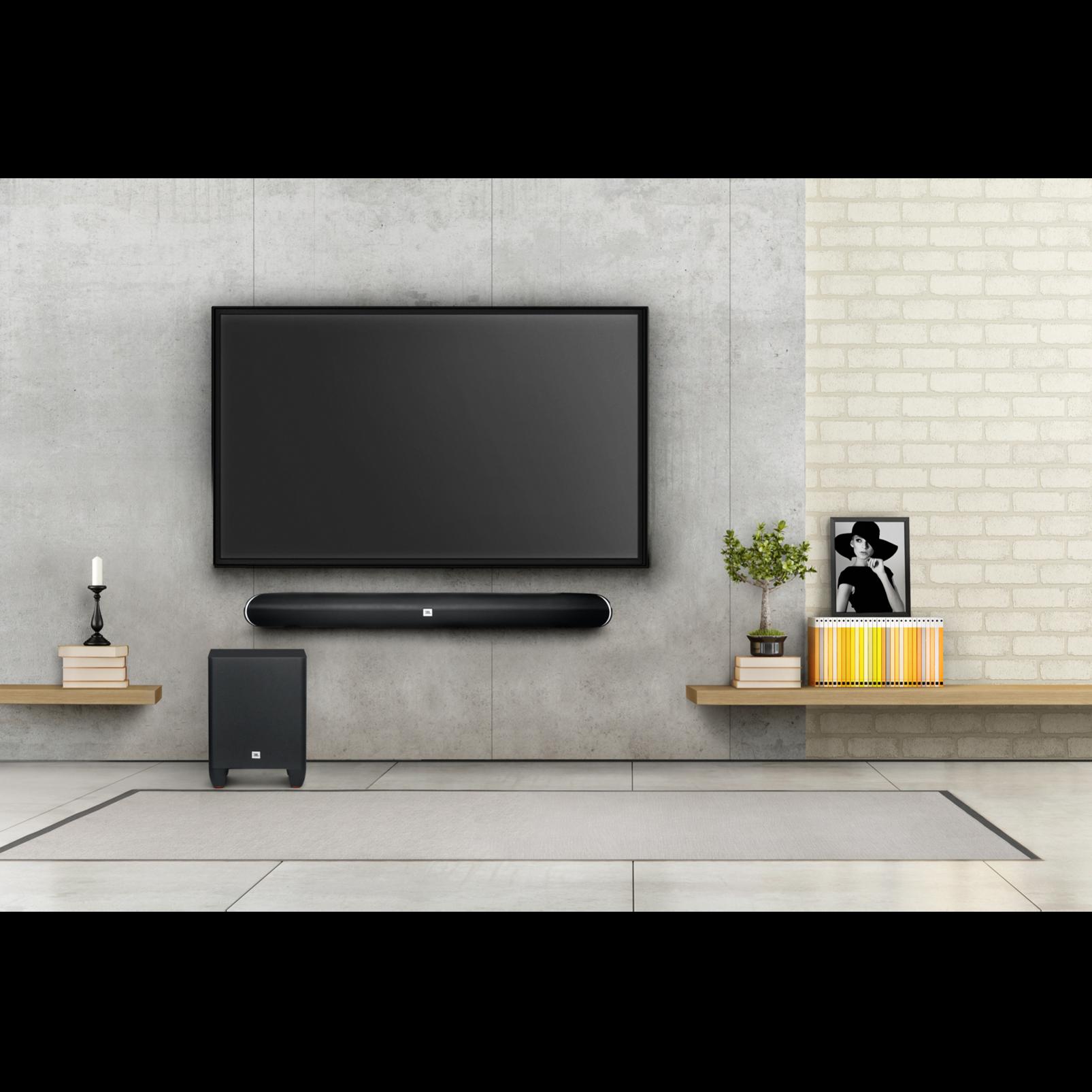 cinema sb250 200w home cinema soundbar with wireless subwoofer and virtual surround. Black Bedroom Furniture Sets. Home Design Ideas