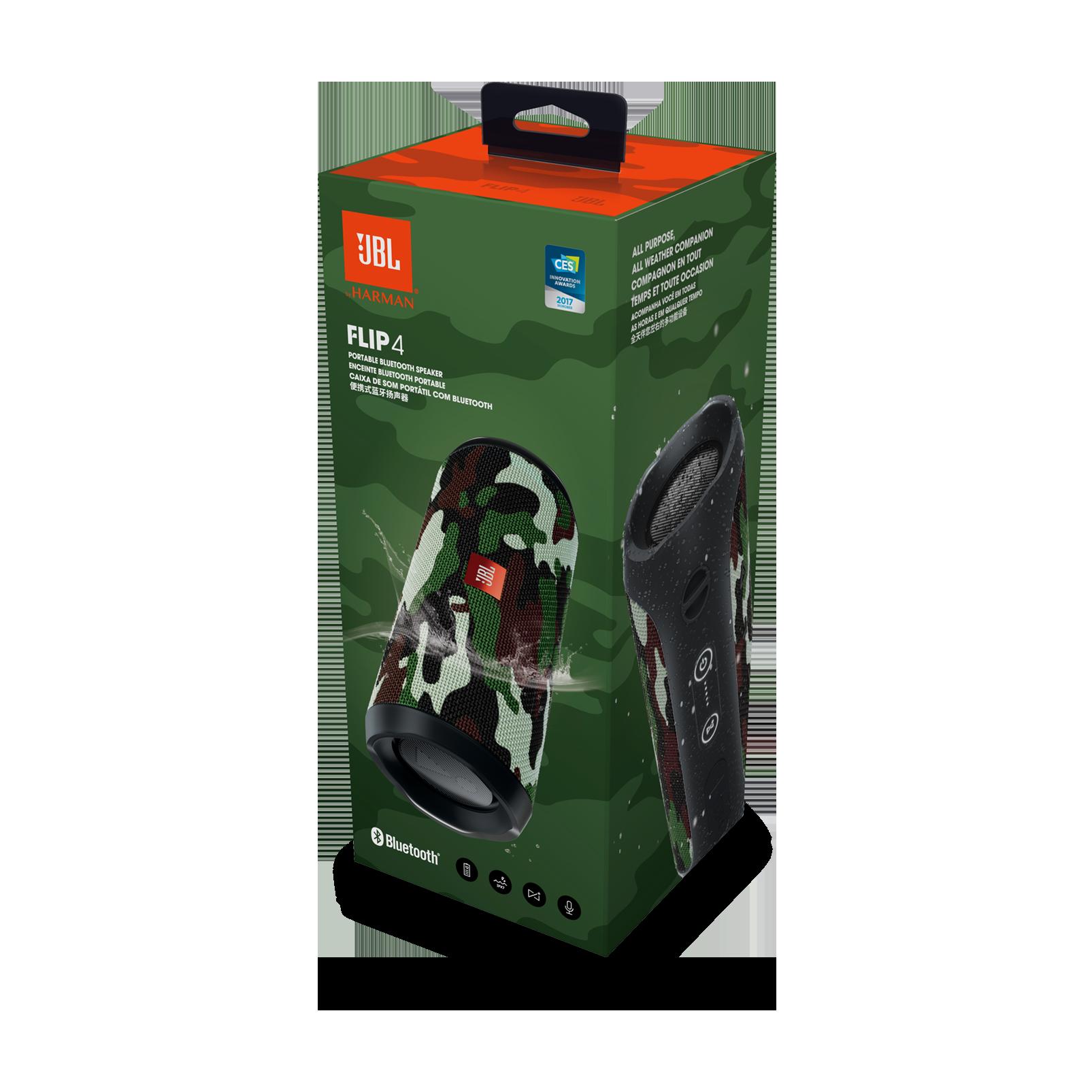 JBL FLIP 4 Camo Bluetooth Speaker /& Bluetooth USB Adapter
