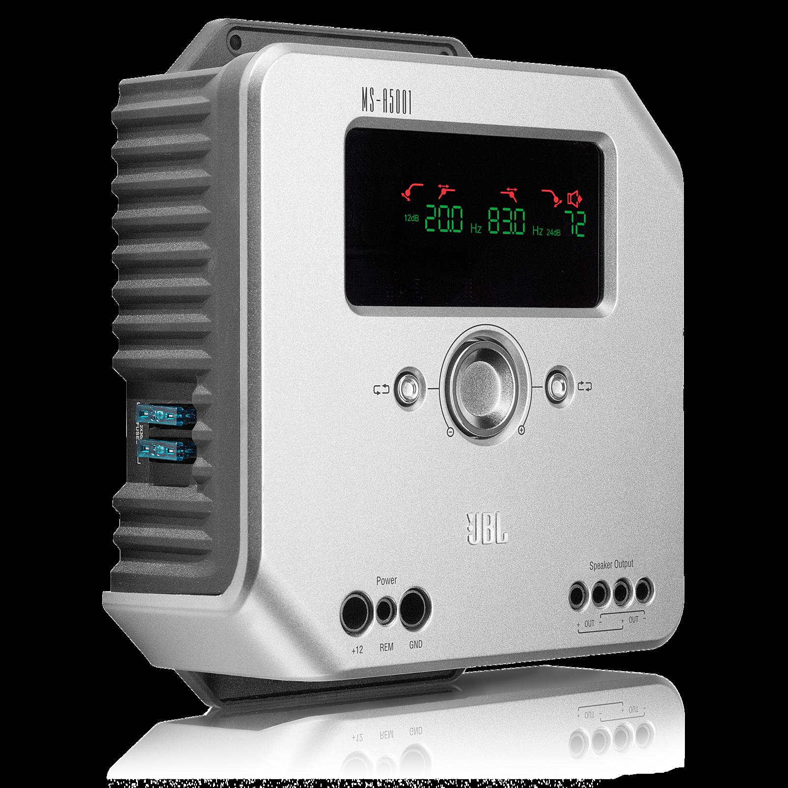 Ms A5001 500 Watt Class D Subwoofer Amplifier Car Preamplifier Amp Artificial Earth