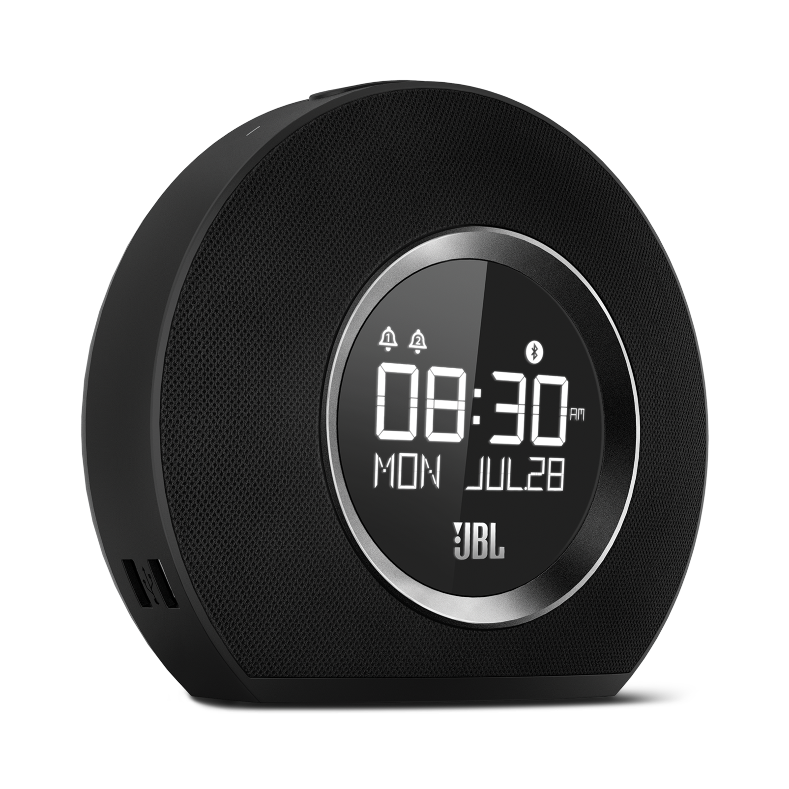Jbl Horizon Bluetooth Clock Radio With Usb Charging And Ambient Light Shadow Sensor Alarm
