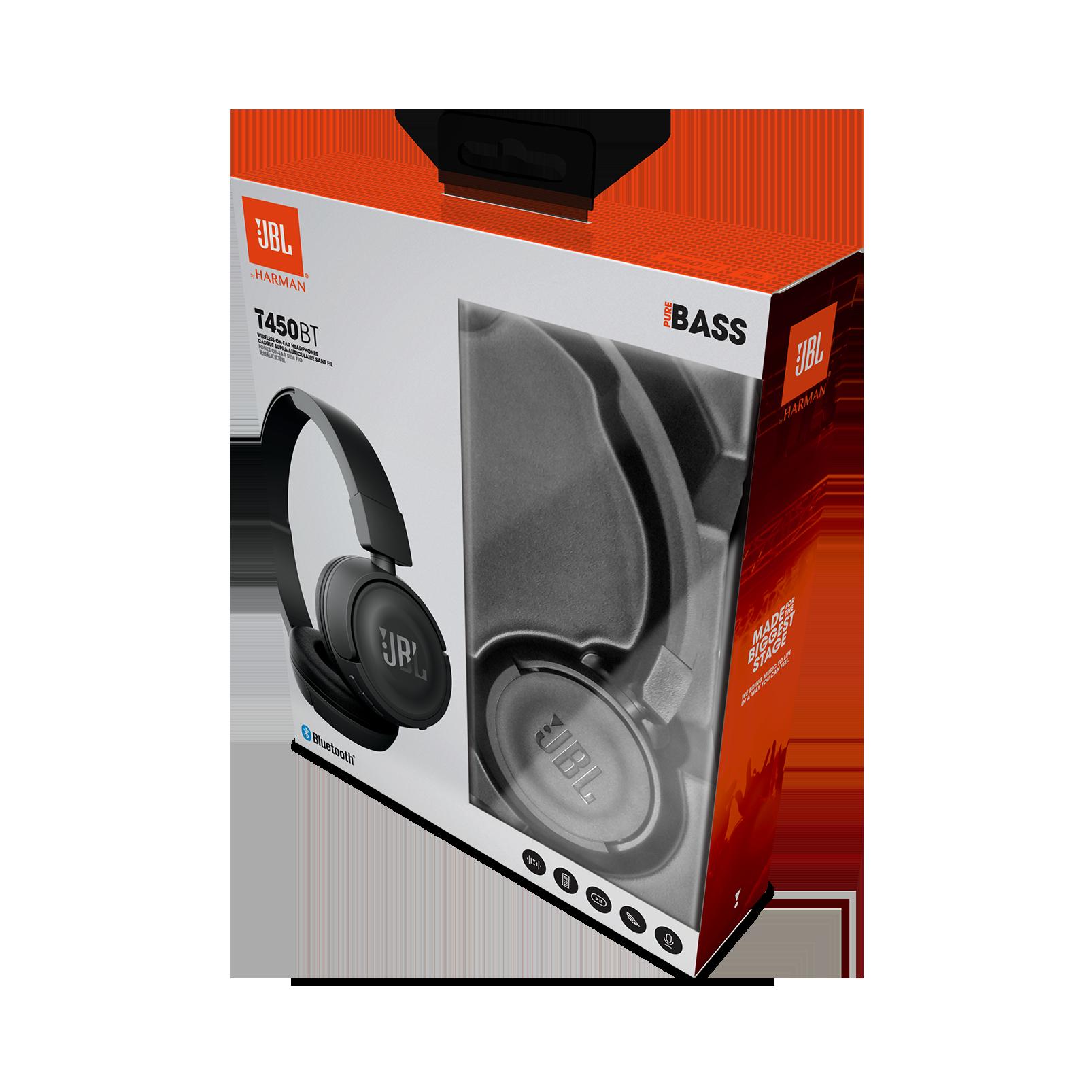 e448c29caad JBL T450BT | Wireless on-ear headphones