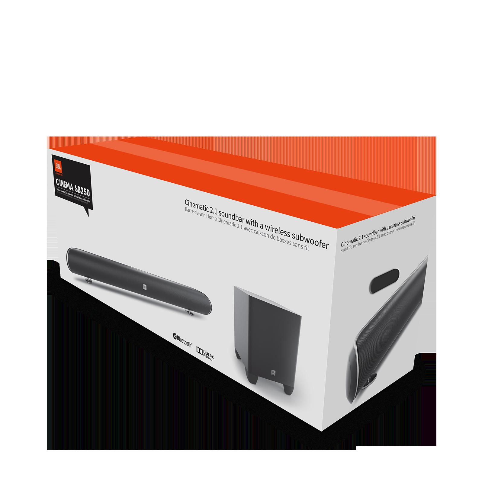 Cinema Sb250 200w Home Cinema Soundbar With Wireless Subwoofer  # Table Tv Avec Home Cinema