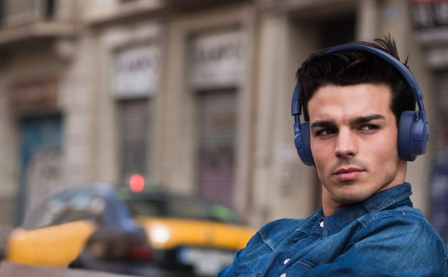 JBL TUNE 750BTNC | Wireless Over-Ear ANC Headphones
