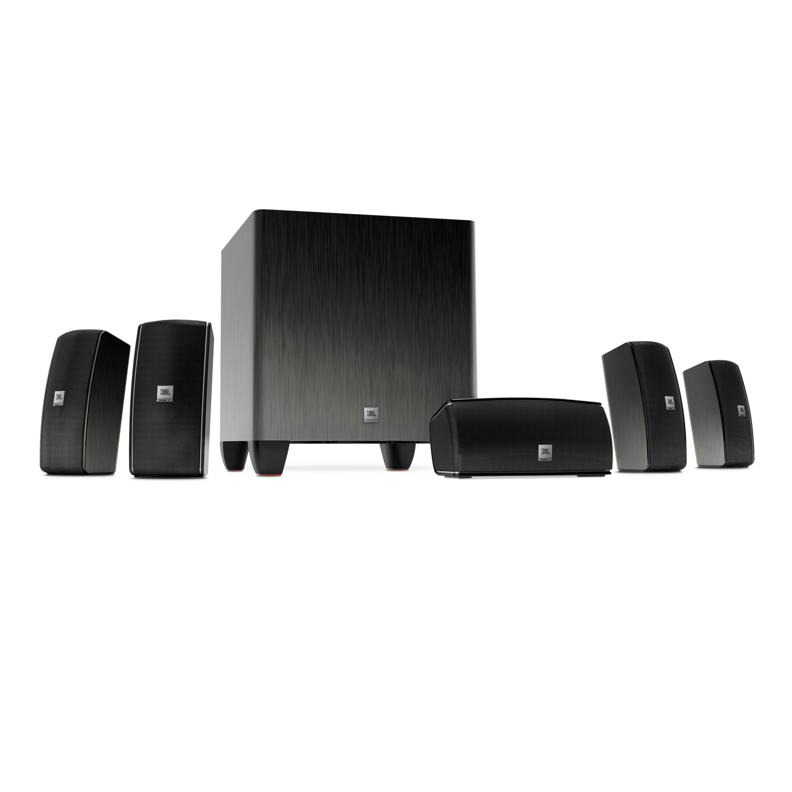 Cinema 610 | 5.1 Home Theater Speaker System with Powered Subwoofer ...