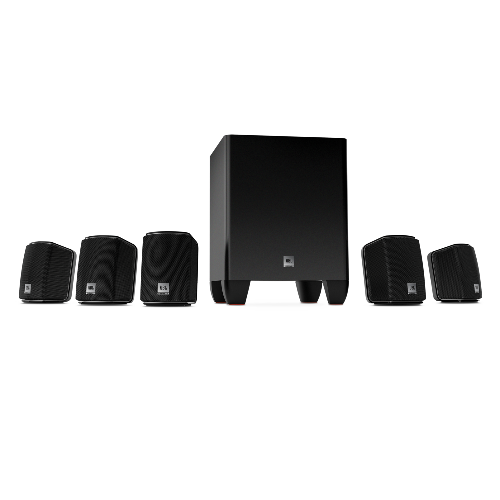 cinema 510 5 1 home theater speaker system with powered subwoofer rh jbl com