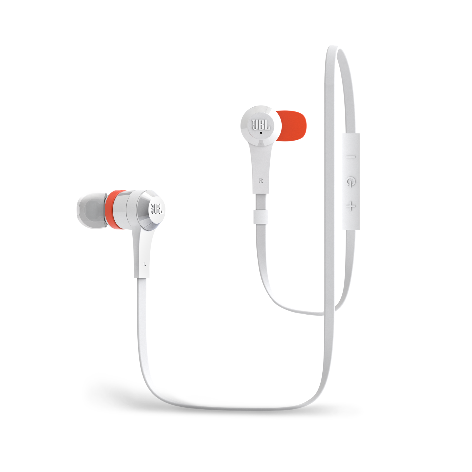 J46BT - White - Bluetooth® Wireless In Ear Stereo Headphone - Hero