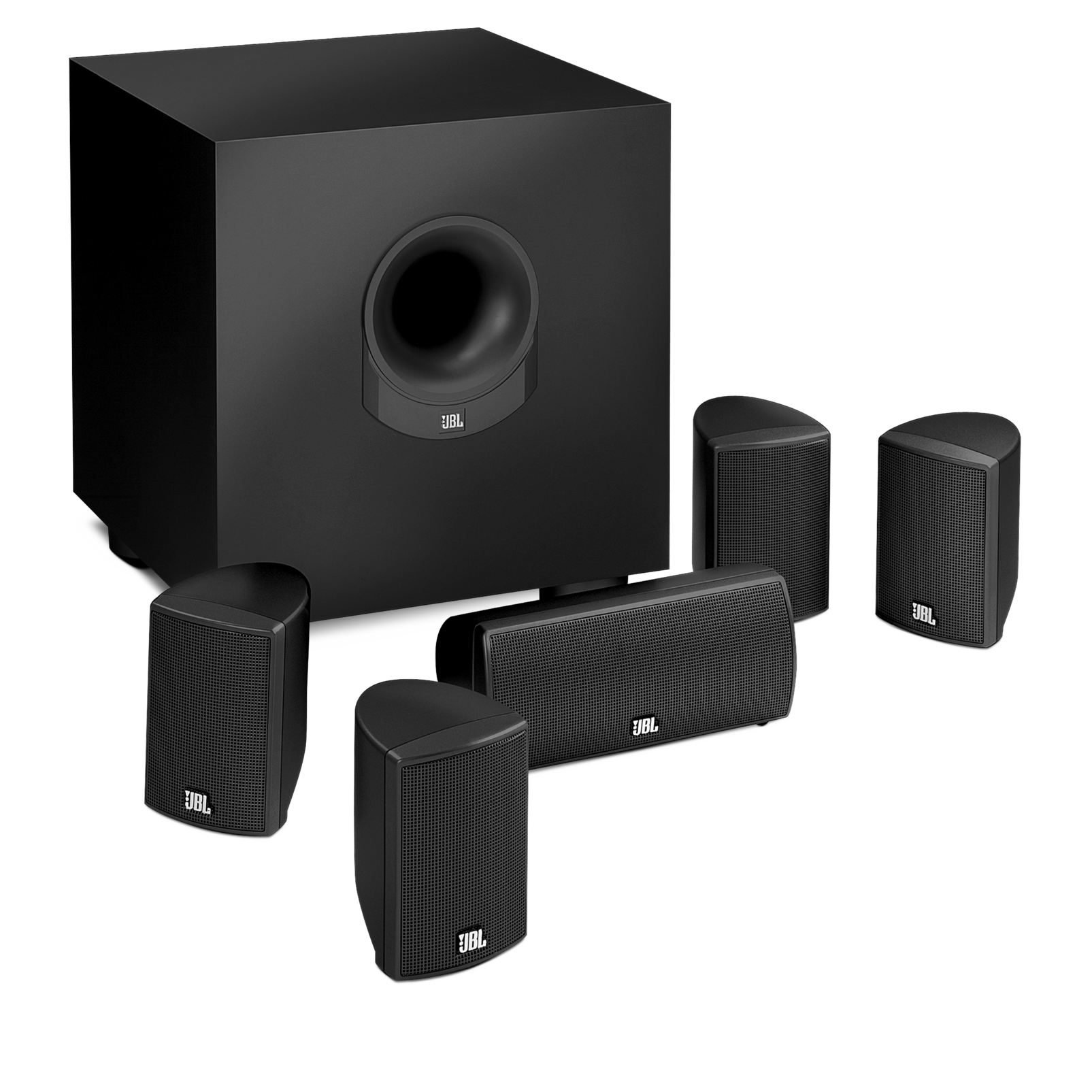 scs145 5 5 1 home theater speaker with realistic surround sound. Black Bedroom Furniture Sets. Home Design Ideas