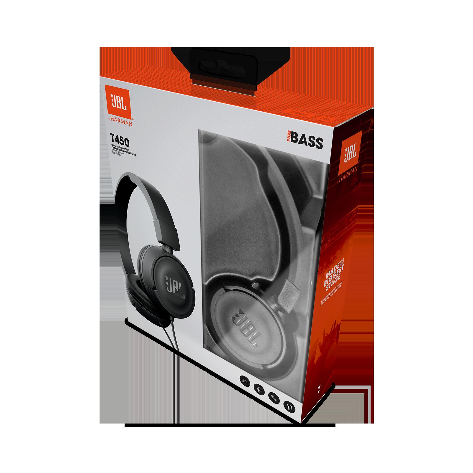 159588e640e JBL T450 | On-ear headphones