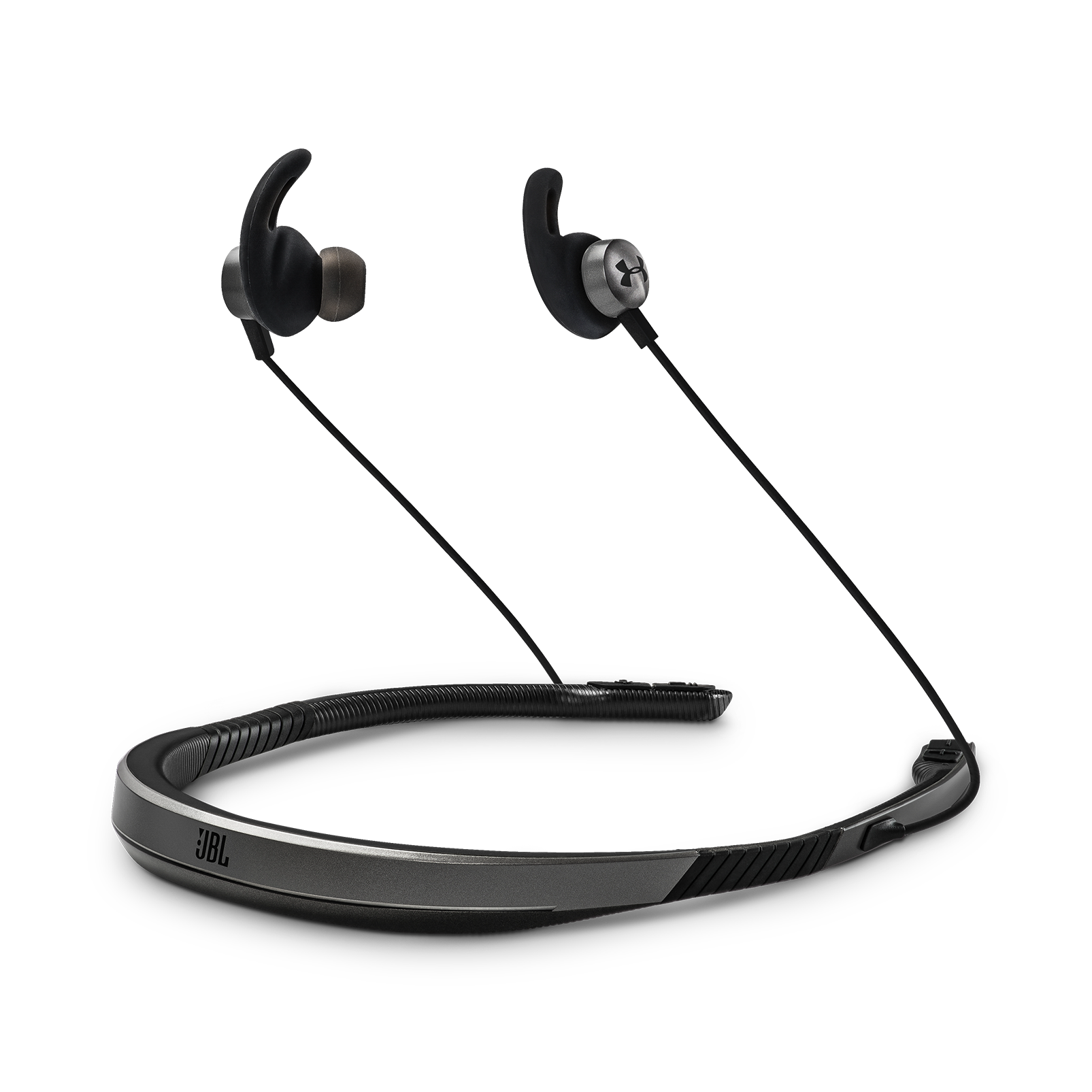 Ua Sport Wireless Flex Engineered By Jbl Neckband Isolation Audio Headphones Having On Volume Control Wiring