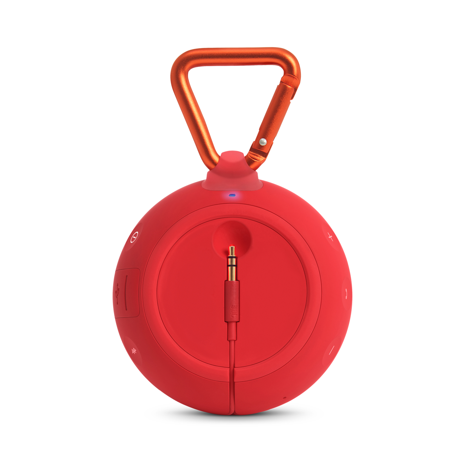 JBL Clip 2 Waterproof Portable Bluetooth Speaker Red