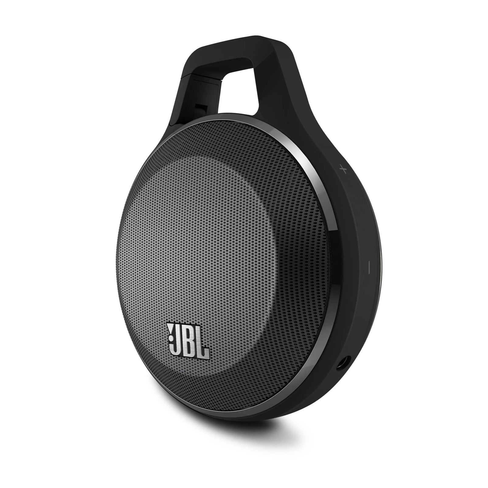 jbl clip ultra portable rechargeable speaker  integrated carabiner