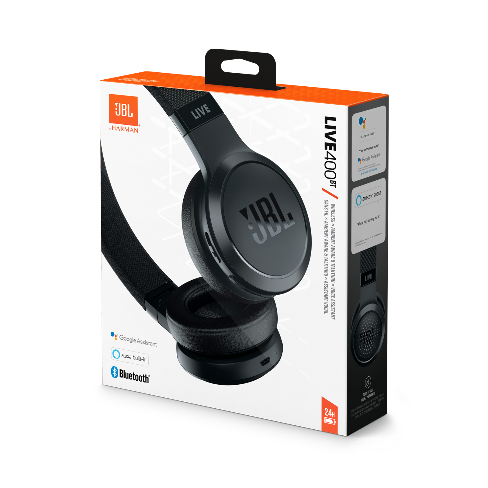 Jbl Live 400bt Your Sound Unplugged