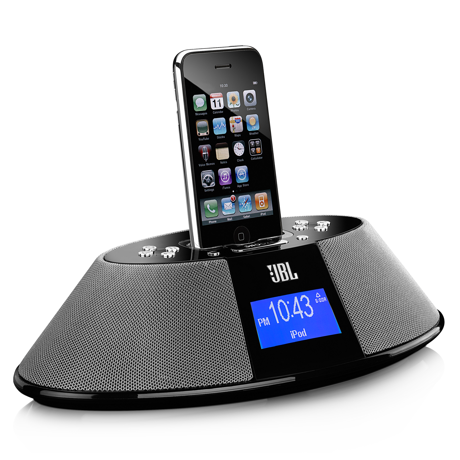 Clock Radio Iphone  Dock