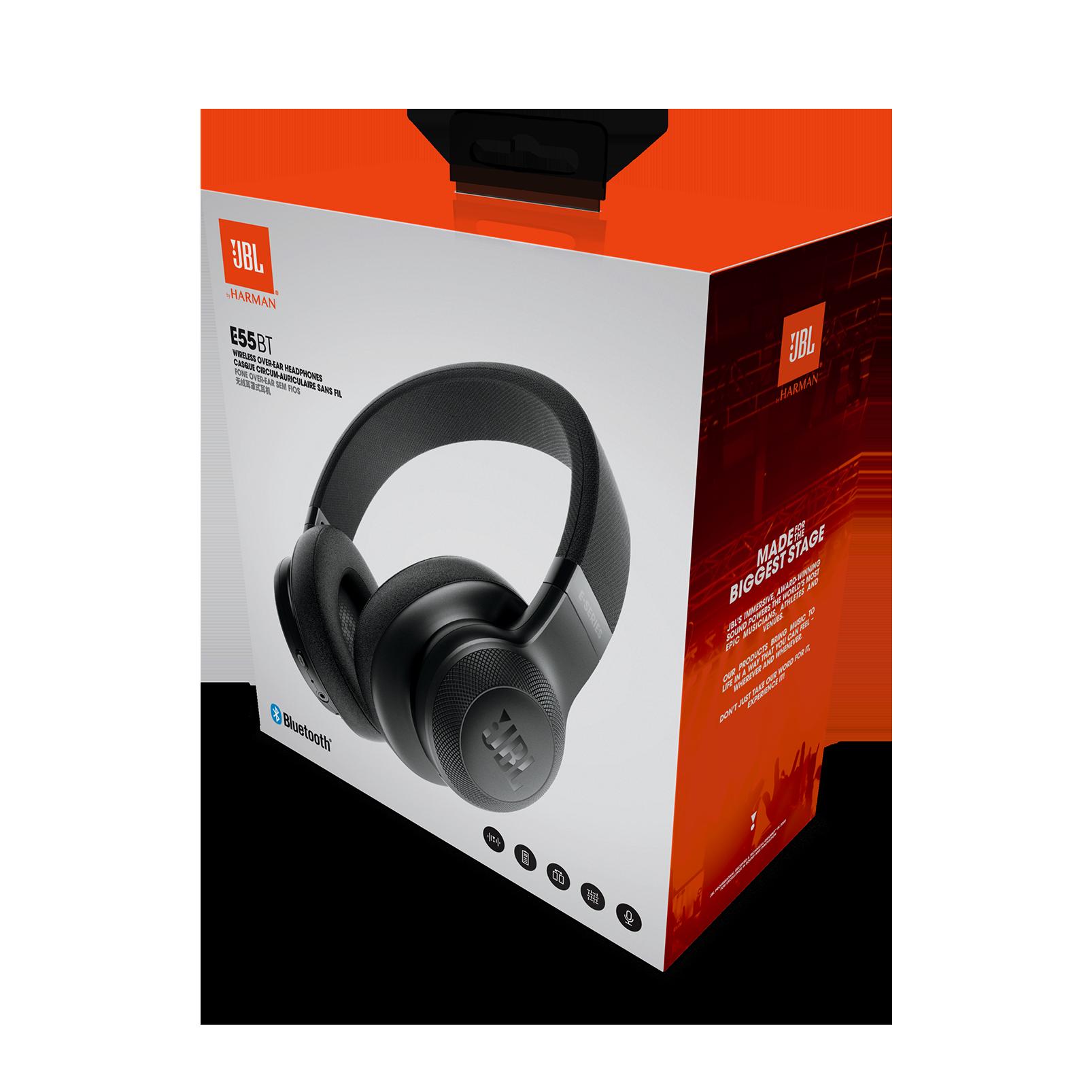 jbl e55bt wireless over ear headphones. Black Bedroom Furniture Sets. Home Design Ideas